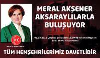 Meral Akşener'in Aksaray programı belli oldu