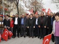 Aksaray'da Teröre Karşı Birlik Ve Beraberlik Yürüyüşü