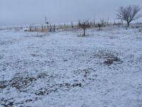 Eskil'in köylerine mart karı yağdı