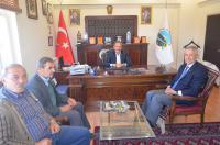 Saffet Çalışkan'dan Mustafa Kepil'e ziyaret