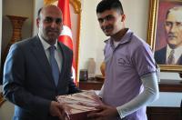 Ortaköy'de şampiyon ödüllendirildi