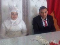 Dilek ile İsmet evlendi