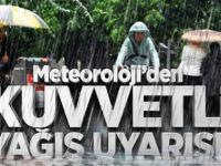 Aksaray ve Konya için şiddetli yağış uyarısı