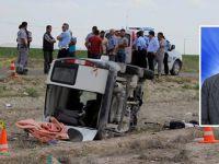 Karapınar'da Trafik Kazası: 1 Ölü 1 Yaralı