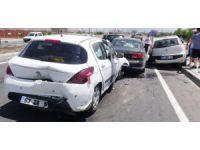 Aksaray'da zincirleme kaza: 5 yaralı