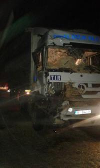 Ortaköy'de kaza 2'si ağır 4 yaralı