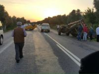 Traktörler kazalara davetiye çıkarıyor!