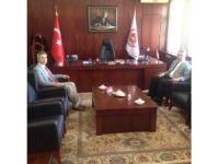 Vali Pekmez, Başsavcı ve Adalet Komisyonu Başkanı'nı ziyaret etti