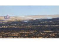 Kulu'da anız yangını