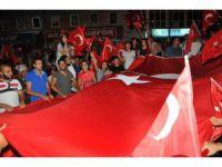 Akşehir'de demokrasi nöbeti
