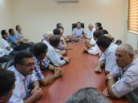 Eskil'de Yerel Yöneticiler İle İstişare Toplantısı Yapıldı