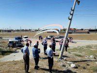 Sultanhanı'nda trafik kazası: 1 ölü 3 yaralı