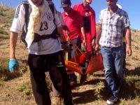 Dağda apandisiti patlayan çobana helikopterli kurtarma operasyonu