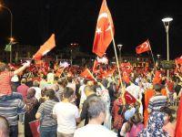 Konya'da demokrasi nöbeti