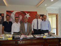 Suat Altınsoy'dan Başkan Yıldız'a ziyaret
