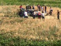 Aksaray'da gurbetçi aile kaza yaptı: 2 ölü, 1 yaralı