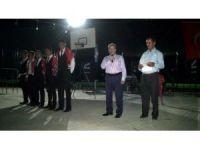 Başkan Akkaya asker uğurlama törenine katıldı
