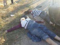 Aksaray'da  kamyonet 8 takla attı: 1 ölü, 6 yaralı