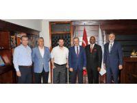 Ruanda Büyükelçisi Williams Nkurunziza, KSO'yu ziyaret etti