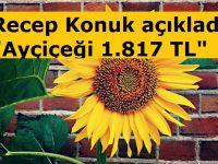 Yüzde 50 yağ oranlı ayçiçeği 1.817 TL