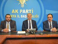 AK Parti Konya Milletvekili Kaleli gündemi değerlendirdi