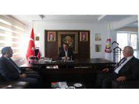 SGK Konya İl Müdürü Yavuz'dan Başkan Tutal 'a ziyaret