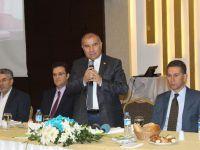 Kombassan Holding Yönetim Kurulu Başkanı Alaboyun tanışma toplantısı düzenledi