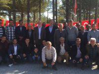 Eşmekama Belediyesi'nden anlamlı program! Ömer Halisdemir'in mezarına ziyaret