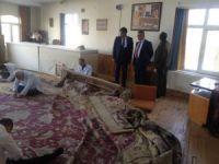 Vali Pekmez halı restorasyon atölyelerini ziyaret etti