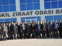 Aksaray Üniversitesi Senatosu Eskil'de toplandı