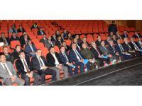 Aksaray'da acil müdahale planının masa başı tatbikatı yapıldı