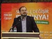 """AGD Başkanı Turhan'dan """"Seninle Değişir Bu Dünya"""" konferansı"""