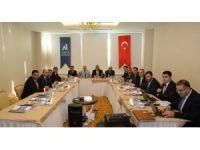 Aksaray'da AHİKA Yönetim Kurulu Olağan Toplantısı yapıldı