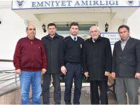 Başkan Alçay ve Meclis Üyeleri'nden Emniyet'e taziye ziyareti