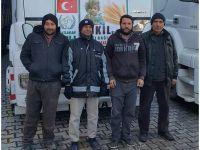 Eskil'den Halep'e 3 Tır Yardım Gönderildi