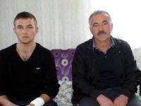 Kayseri'deki patlamadan yaralı kurtulan eri, yeni aldığı montu kurtarmış
