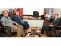 Emniyet Müdürü Hüner'den Başkan Kayan'a ziyaret