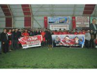 Akşehir'de şehit kaymakam adına futbol turnuvası