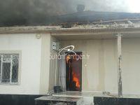 Sultanhanı'ndaki yangında bir ev kullanamaz hale geldi