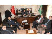 Milletvekili Aydoğdu ve Başkan Karatay'dan ziraat odasına ziyaret