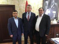 Koçak ve Aktürk'ten Münir Uğuz'a ziyaret