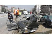 Konya'da zincirleme trafik kazası: 3 yaralı