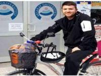 Eskil'den Aksaray'a Bisikletle Gidip Geliyor