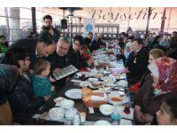 Beyşehir Belediyesi'nden şehit aileleri ve gaziler onuruna yemek