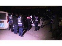 Konya'da uyuşturucu operasyonu: 5 gözaltı