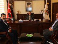 İriş ve Kırlı'dan Vali Pekmez'e ziyaret