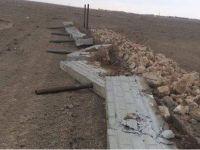 Meraya yapılan kaçak yapı yıkıldı