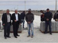 Eskil Belediyesi Kilitli Parke Taş Döşeme çalışmalarına başladı