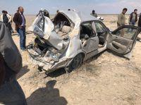 Eskil'de trafik kazası: 1 ölü 1 ağır yaralı