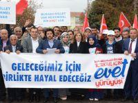 """Mustafa Zavlak TÜGVA'nın """"Evet"""" Çağrısı Toplantısına Katıldı"""